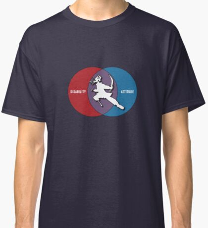 Disabilities with Attitude Classic T-Shirt