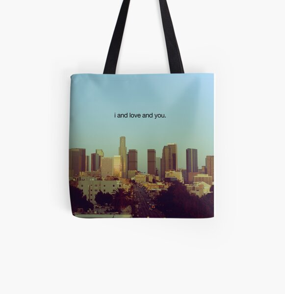 i and love and you All Over Print Tote Bag