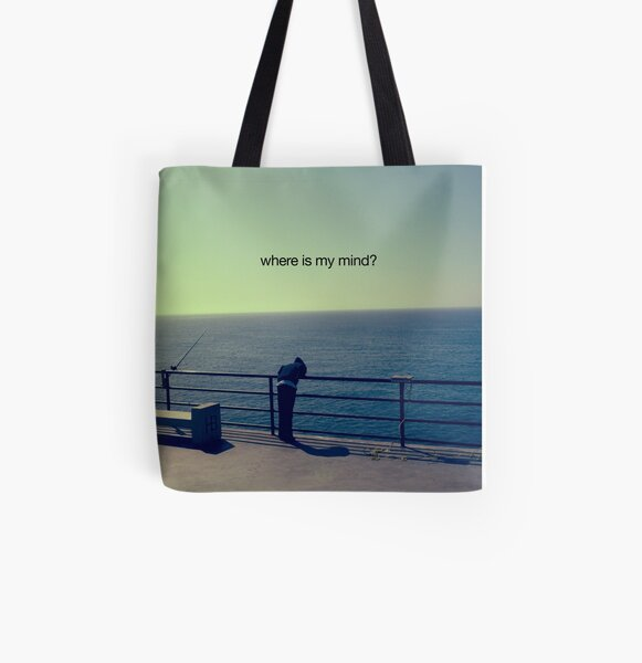 where is my mind? All Over Print Tote Bag