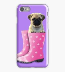 Pug In Boots iPhone Case/Skin