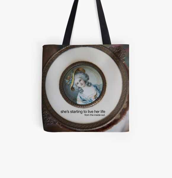 inside out All Over Print Tote Bag