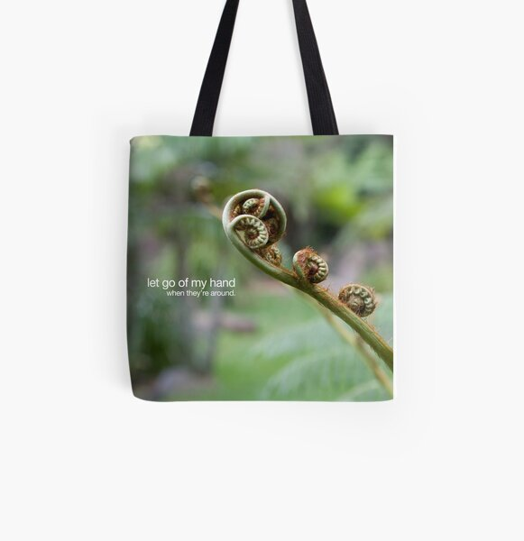 let go All Over Print Tote Bag