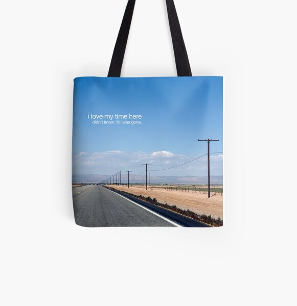 didn't know All Over Print Tote Bag