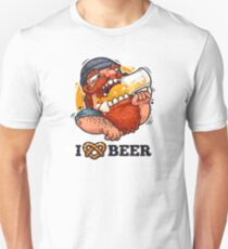 Man Loves Beer Unisex T-Shirt