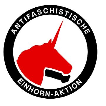 Antifaschistische Einhorn-Aktion by fabianb