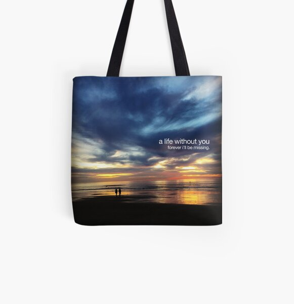 missing All Over Print Tote Bag