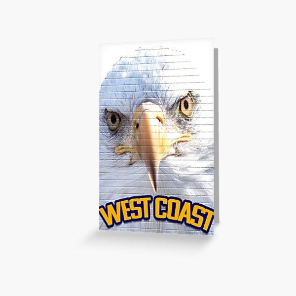 West Coast Eagles Greeting Card