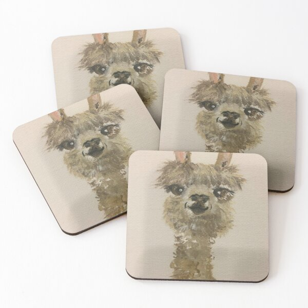 Llama Mama Coasters (Set of 4)