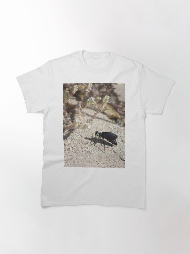 Alternate view of Closeup Black Blister Beetle Coachella Preserve 2 Classic T-Shirt