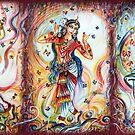 Bharatnatyam Tänzer von Harsh  Malik