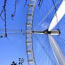 Legs, Twigs and Spokes - London Eye by Rees Adams
