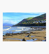 Llwyngwril Beach Photographic Print