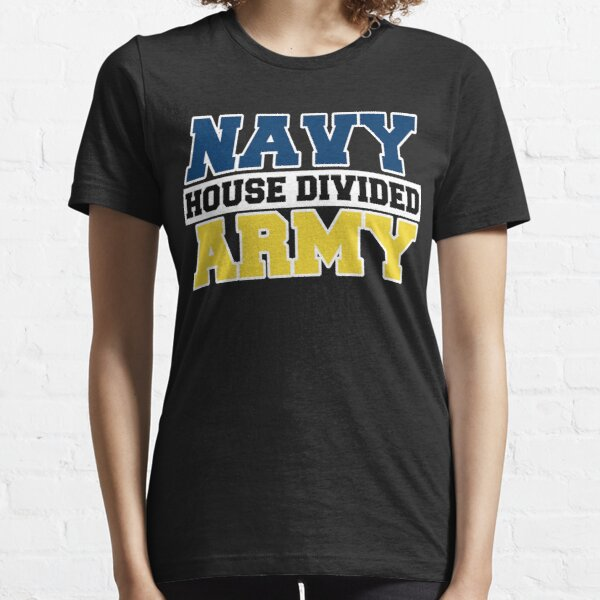 Navy House Divided Army Essential T-Shirt