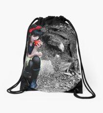 Snow White Drawstring Bag