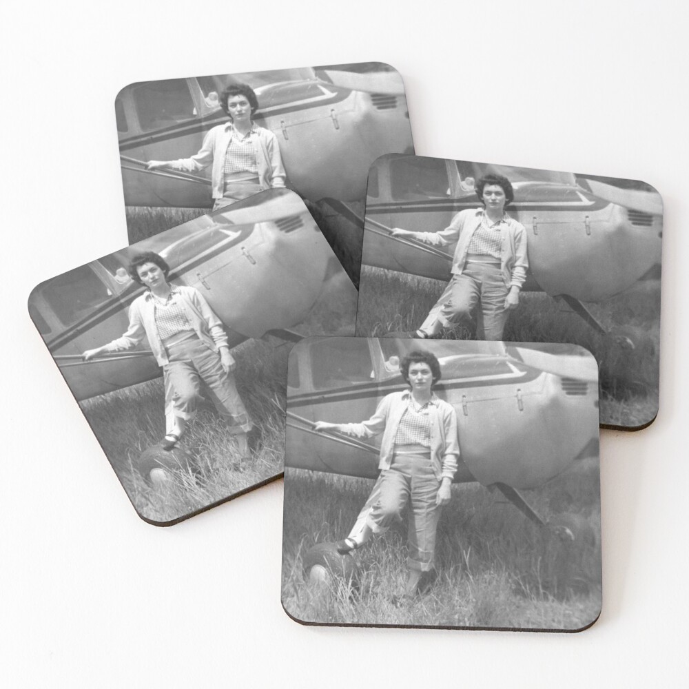 Unknown Flyer Coasters (Set of 4)