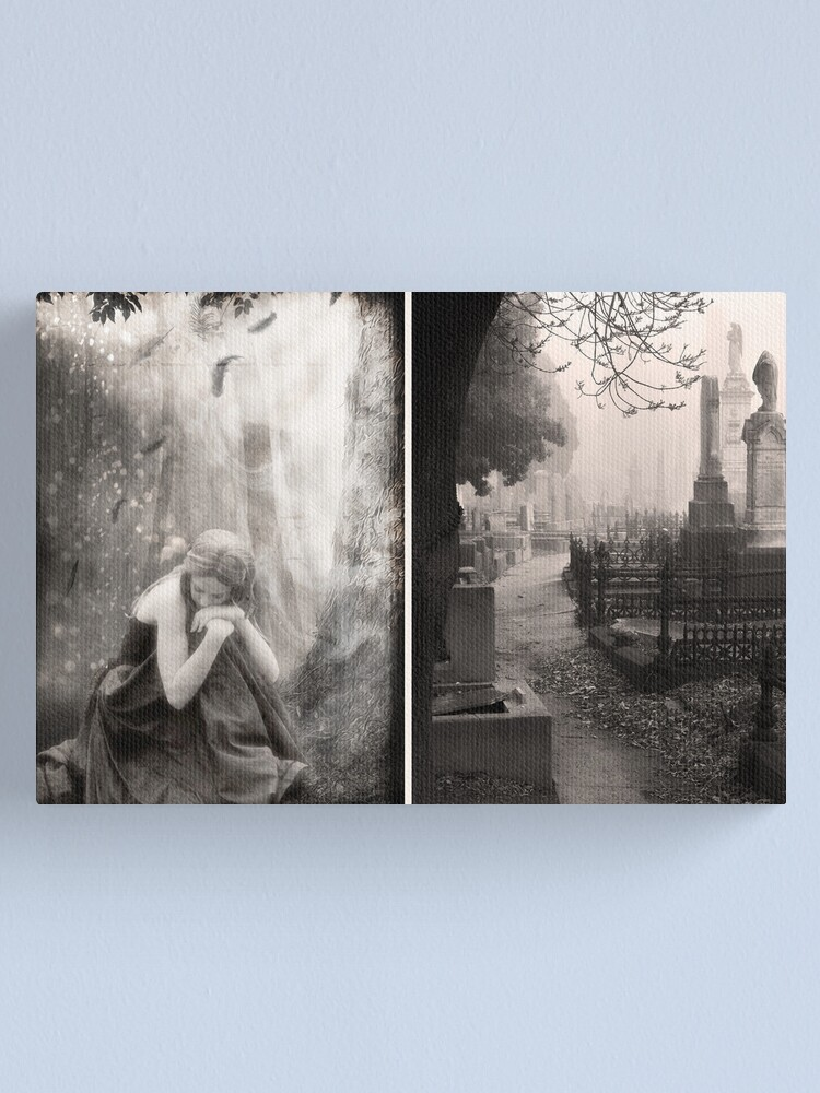 Alternate view of The End of All Hope - Diptych Canvas Print