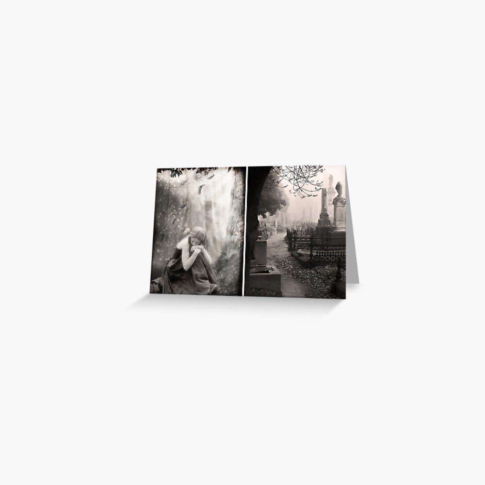 The End of All Hope - Diptych Greeting Card