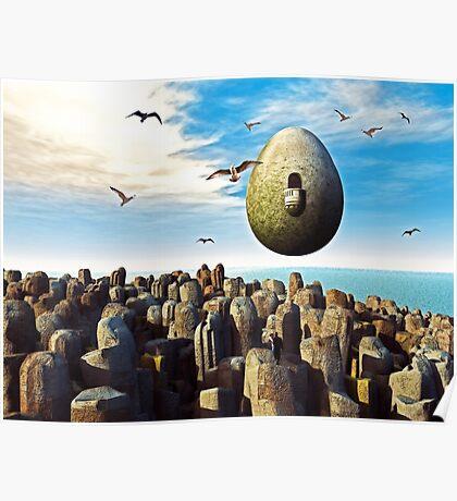 Cosmic Egg Poster