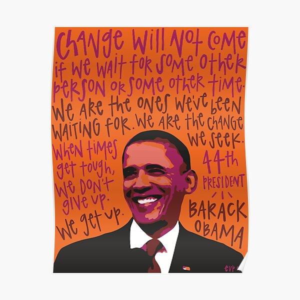 Barack Obama. Poster