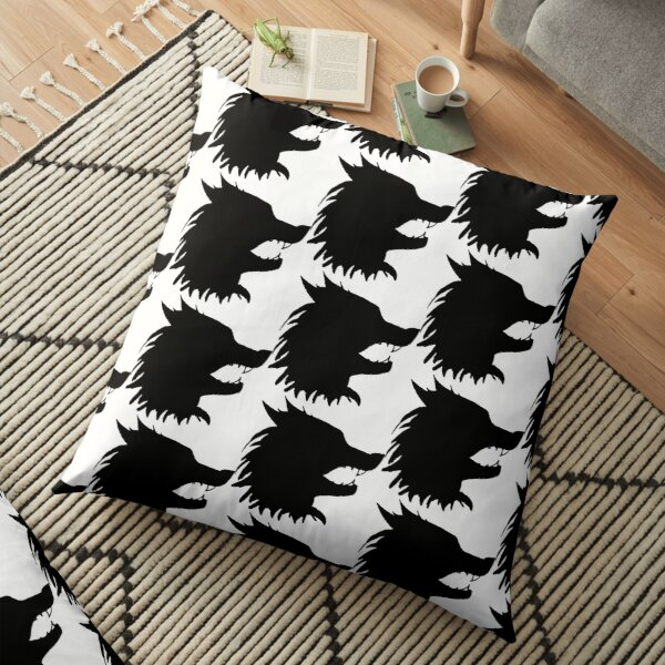 Werewolf Floor Pillow