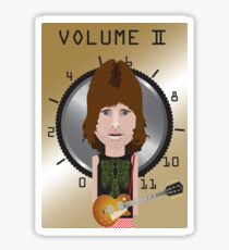 This Is Spinal Tap. Nigel Tufnel. Sticker