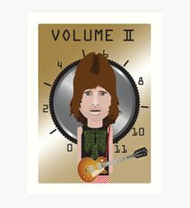 This Is Spinal Tap. Nigel Tufnel. Art Print
