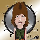 This Is Spinal Tap. Nigel Tufnel. by Mrdoodleillust