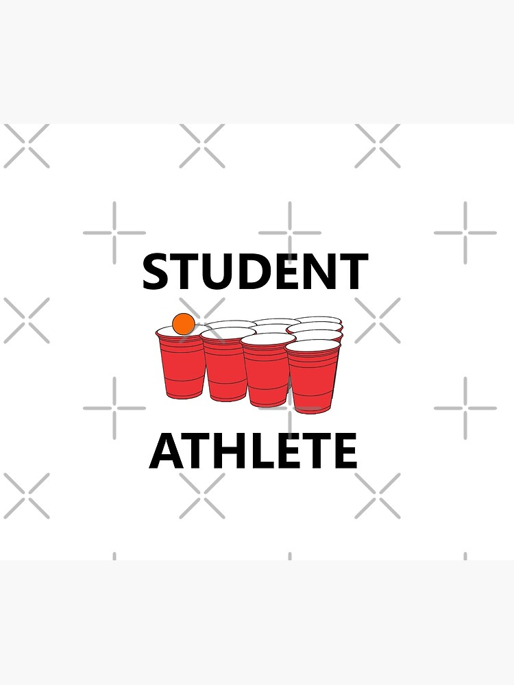 Funny Student Athlete Beer Pong Shirt Drinking Drunk Drink Alcohol Welcome Claw Shit Show College Student School University Party Frat Gift by joeTakeover