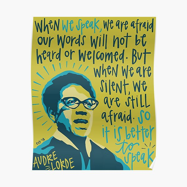 Audre Lorde. Poster