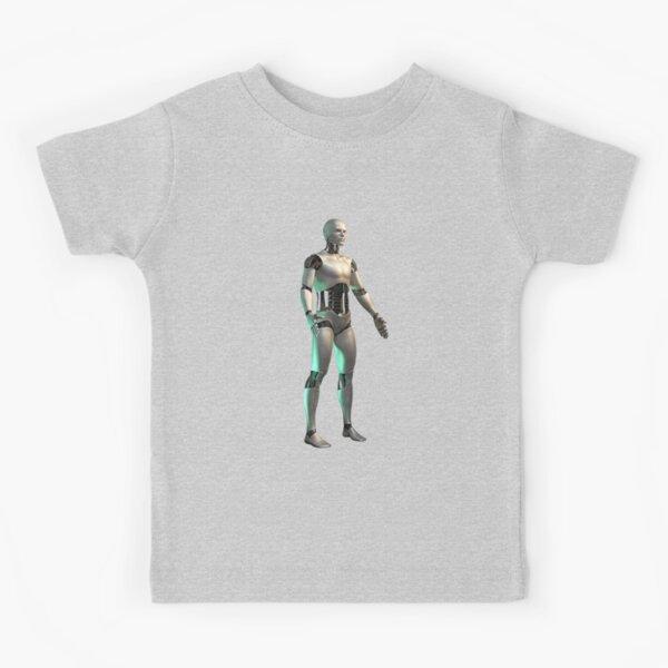 6//7 First Wave Youth Boys Skateboarding Alien Robot Shirt New 4//5