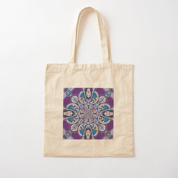 Zentangle Ladies Cotton Tote Bag