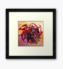 Sci-fi insect Framed Print