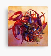 Sci-fi insect Canvas Print
