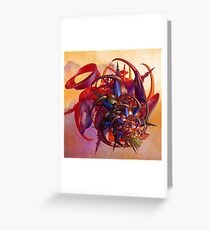 Sci-fi insect Greeting Card