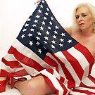 Patriotic Beauty by Michael J