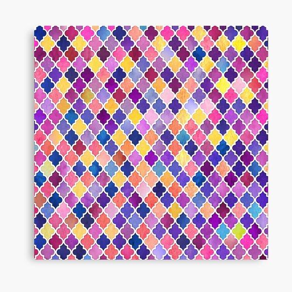 Arabic moroccan mosaic pattern Canvas Print
