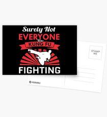 Best Seller Surely Not Everybody Was Kung fu Fighting Merchandise  Postcards