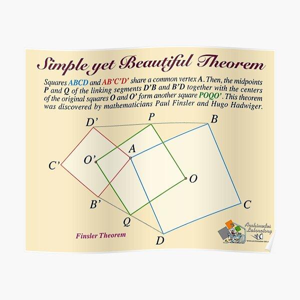 Finsler Theorem Poster