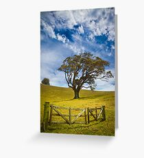 Earth and Air Greeting Card