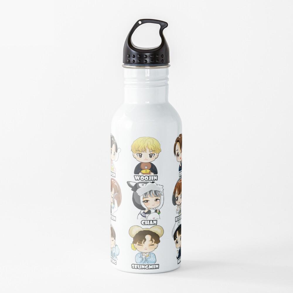 KPOP STRAY KIDS CHIBI ALL MEMBERS Water Bottle