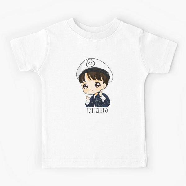 KPOP STRAY ENFANTS LEE SAVOIR MINHO CHIBI T-shirt enfant
