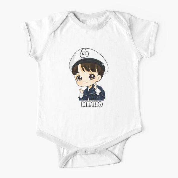 KPOP STRAY ENFANTS LEE SAVOIR MINHO CHIBI Body manches courtes