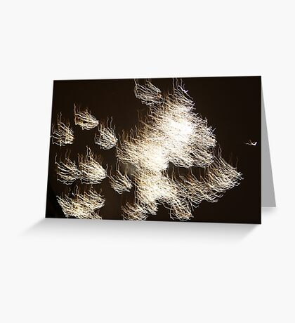 light up the sky Greeting Card
