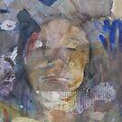 Blue stains by Catrin Stahl-Szarka