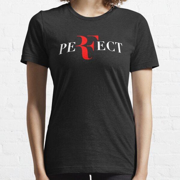 Parfait RF Logo Rouge Blanc T-shirt essentiel