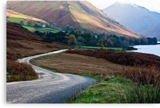 Lake Road - Wast Water by Trevor Kersley