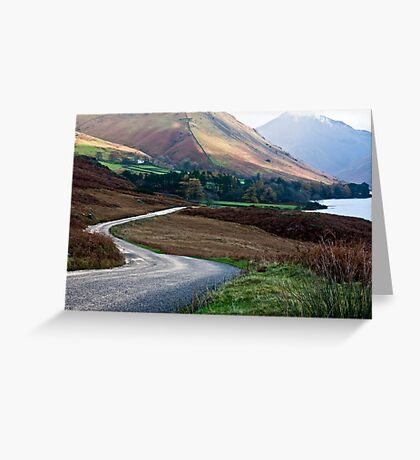 Lake Road - Wast Water Greeting Card