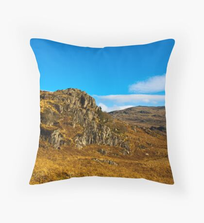 Colours of Autumn in the Duddon Valley Throw Pillow