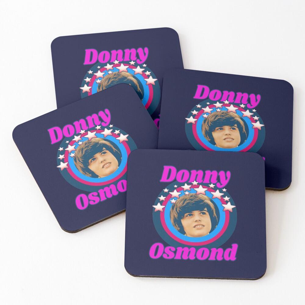 Star Tribute: Donny Osmond Coasters (Set of 4)