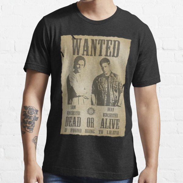 Supernatural - Wanted Dead or Alive  Essential T-Shirt